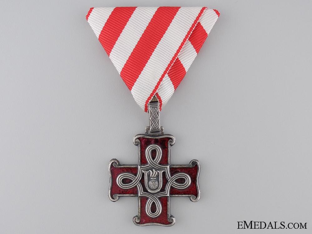 A Croatian Order of Merit; Christian Version; Third Class Cross
