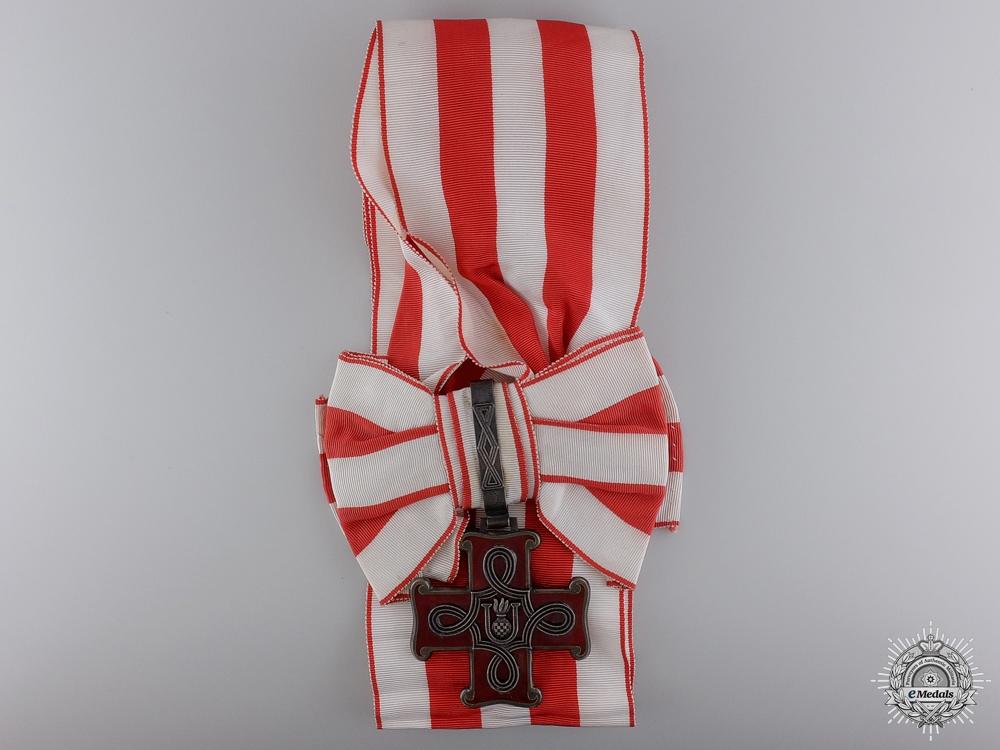 A Croatian Order of Merit; Grand Cross for Christians