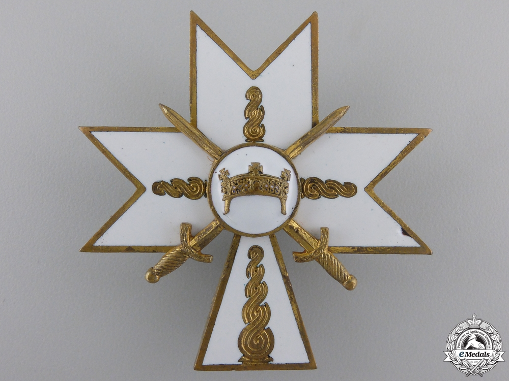 Croatia. An Order of King Zvonimir, Second Class with Swords