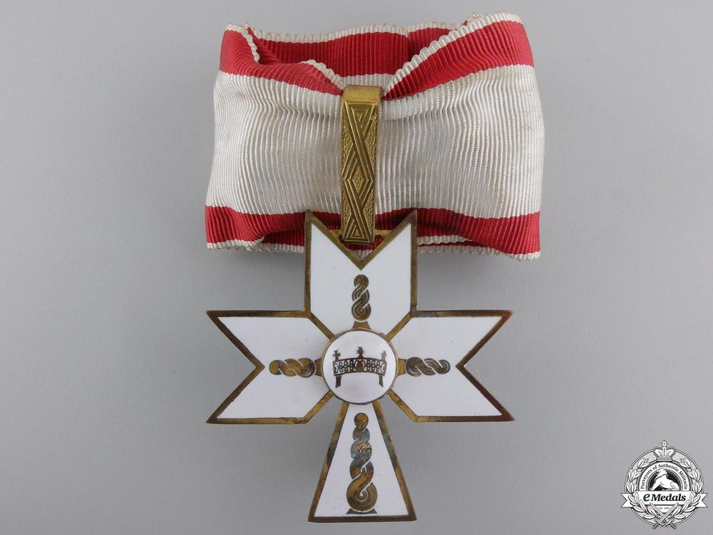 A Croatian Order of King Zvonimir; First Class Cross