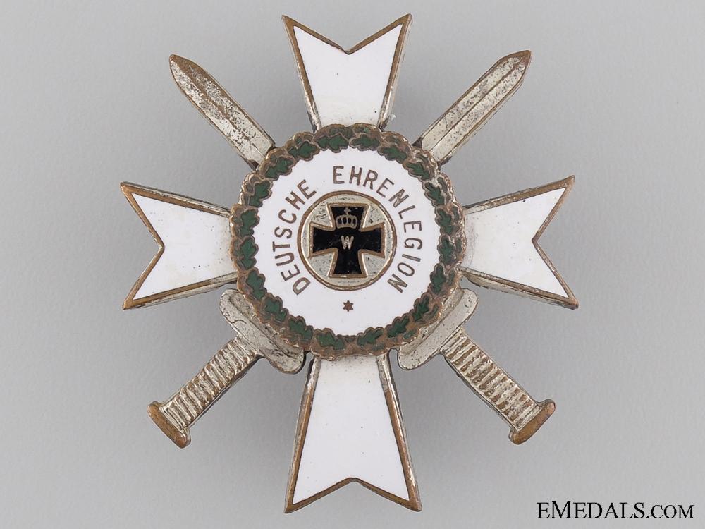 A Cross of the German Honour Legion; c.1920
