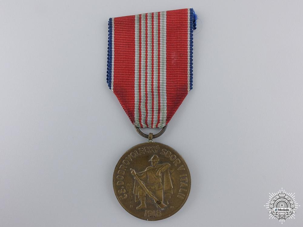 A Czechoslovakian Medal of Italian Legion 1918