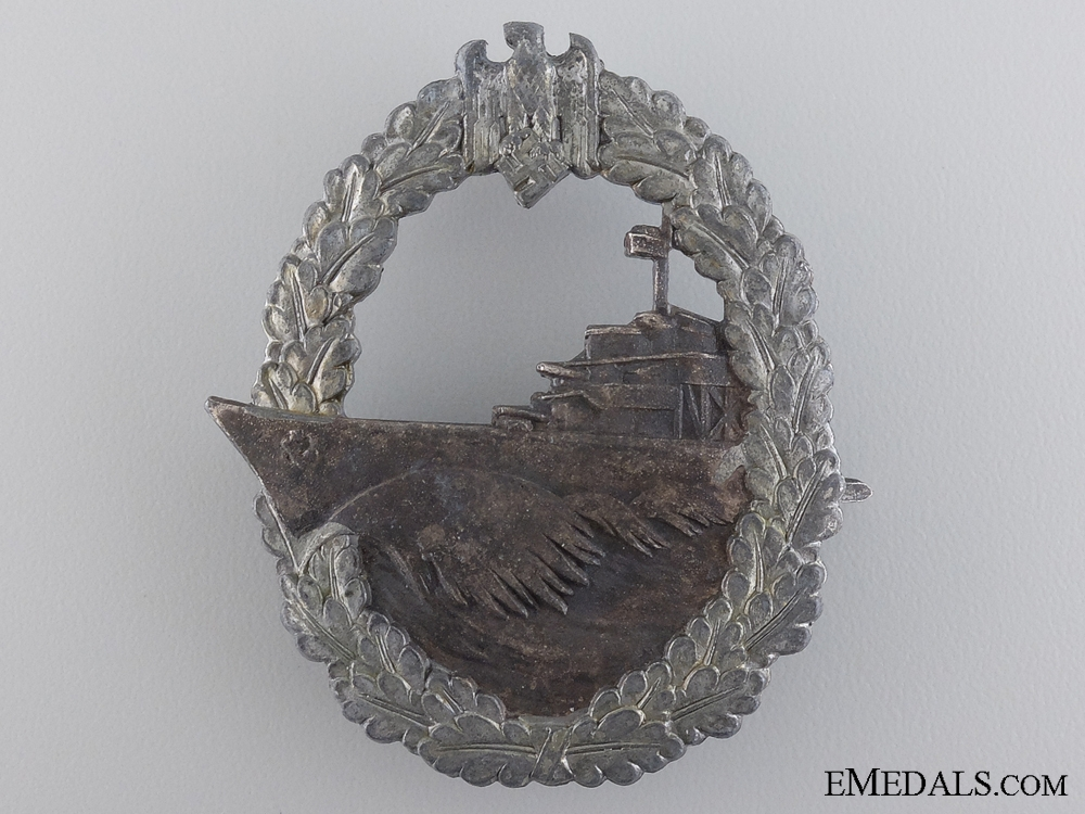 A Destroyer War Badge by Schwerin