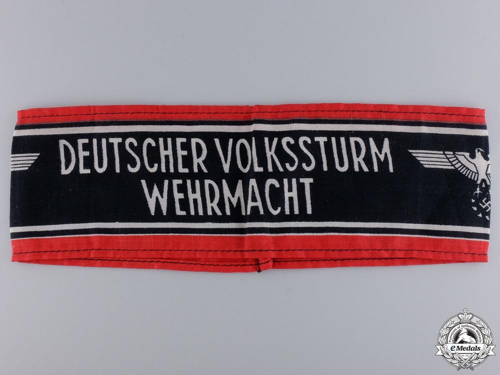 A Deutscher Volksstrum Wehrmacht Armband