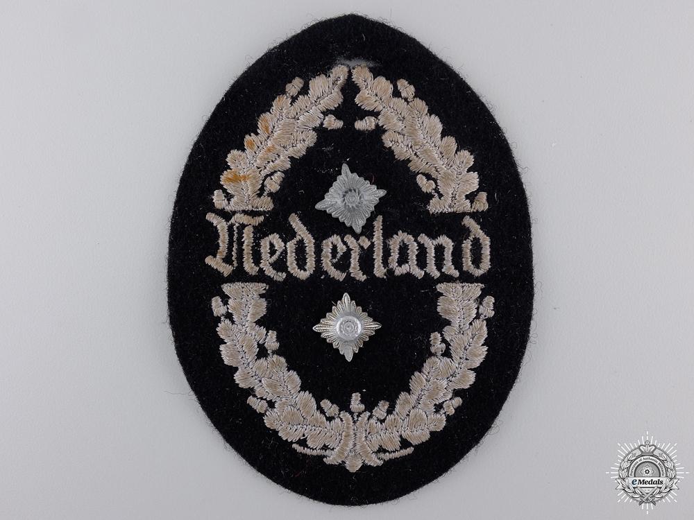 """A Dutch """"Nederland"""" SS Bau-Einsatz Ost Shield"""