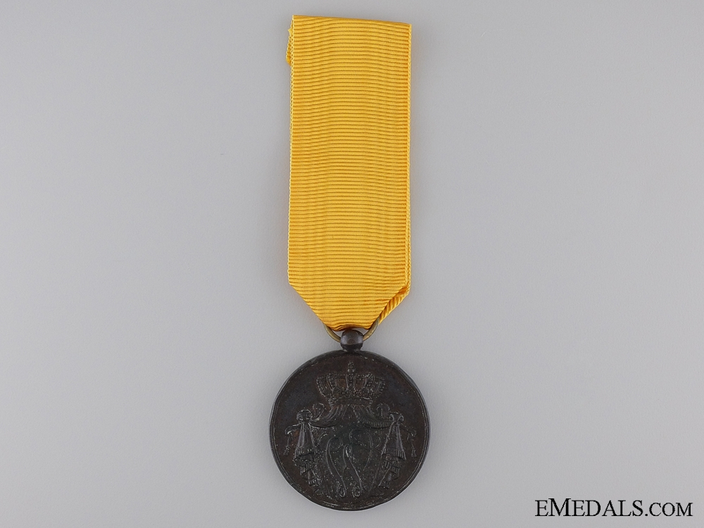 A Dutch Naval NCO's Long Service and Good Conduct Medal