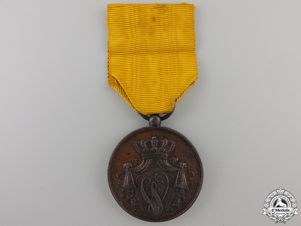 A Dutch Navy Long Service Medal