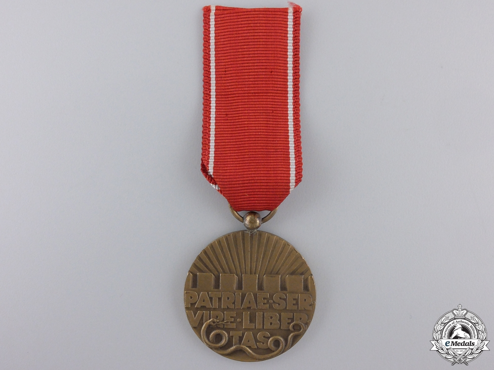 A Dutch Volunteer National Reserve Medal