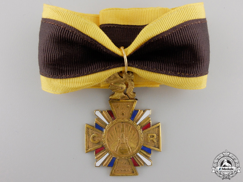A Filipino Order of the Knights of Rizal; Commander's