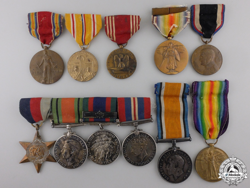 A Fine Anglo-American Medal Group to the Jewish Legion