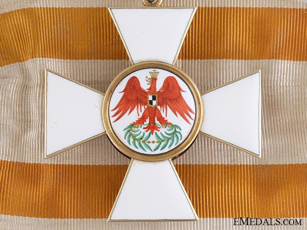 A Fine Prussian Order of the Red Eagle; 2nd Class in Gold