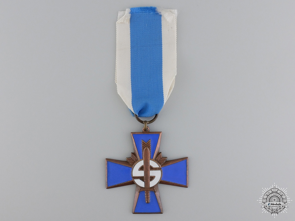 A Finnish Homeguard Volunteer Service Cross