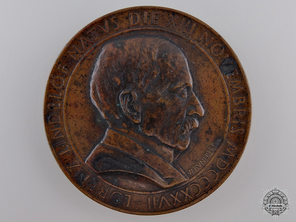 A Finnish Lorenz Lindelöf Scientific Award Medal