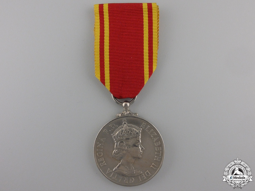 A Fire Brigade Long Service Medal