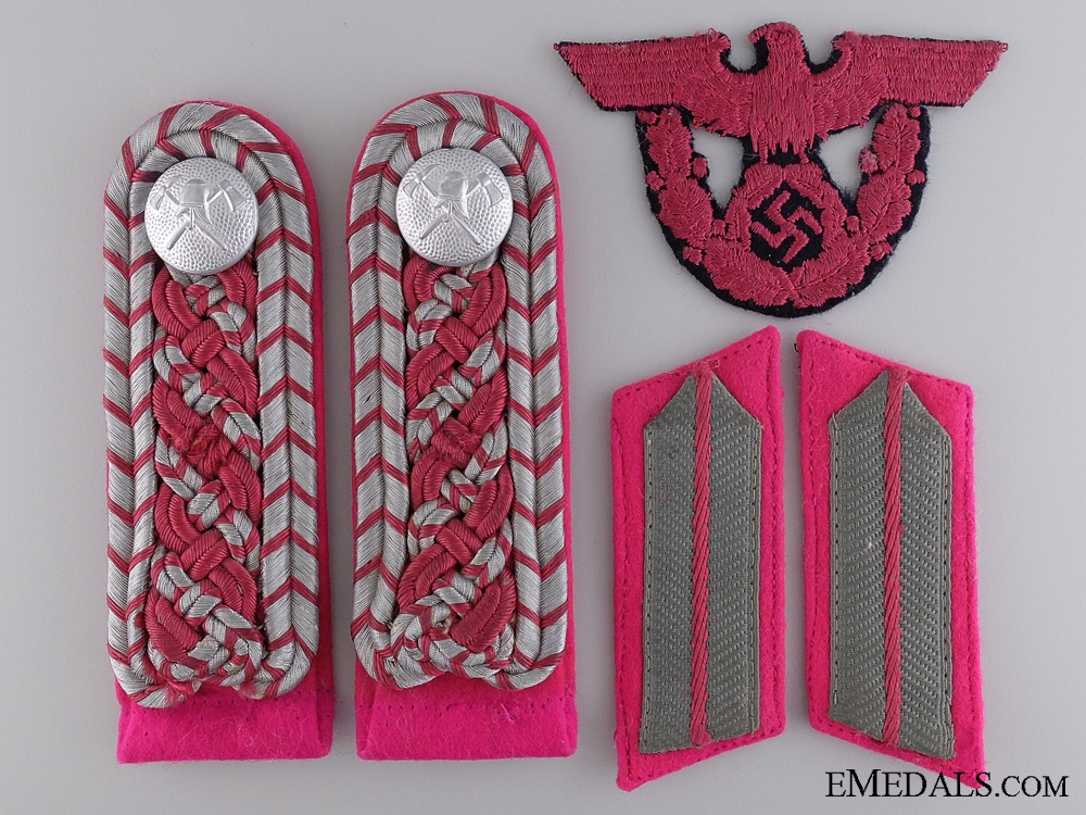 A Fireman's Cloth Insignia Lot