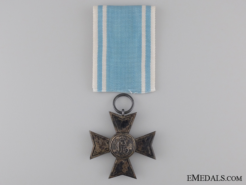 A First Class Reserve Army Cross for 20 Years Service