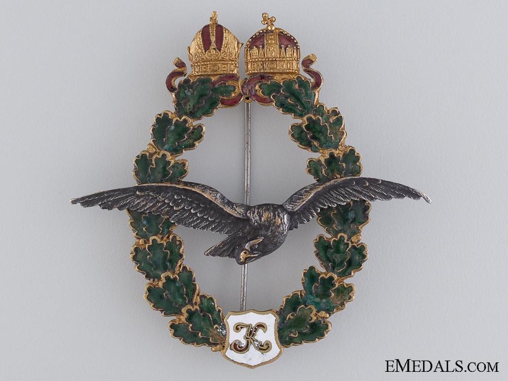 A First War Austrian Pilot's Badge