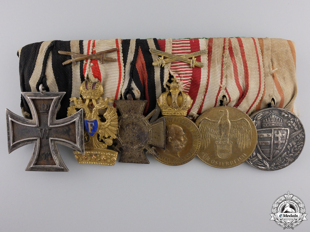 A First War Austrian Medal Bar