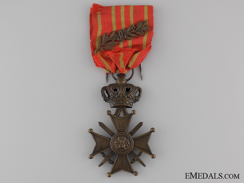 A First War Belgian War Cross