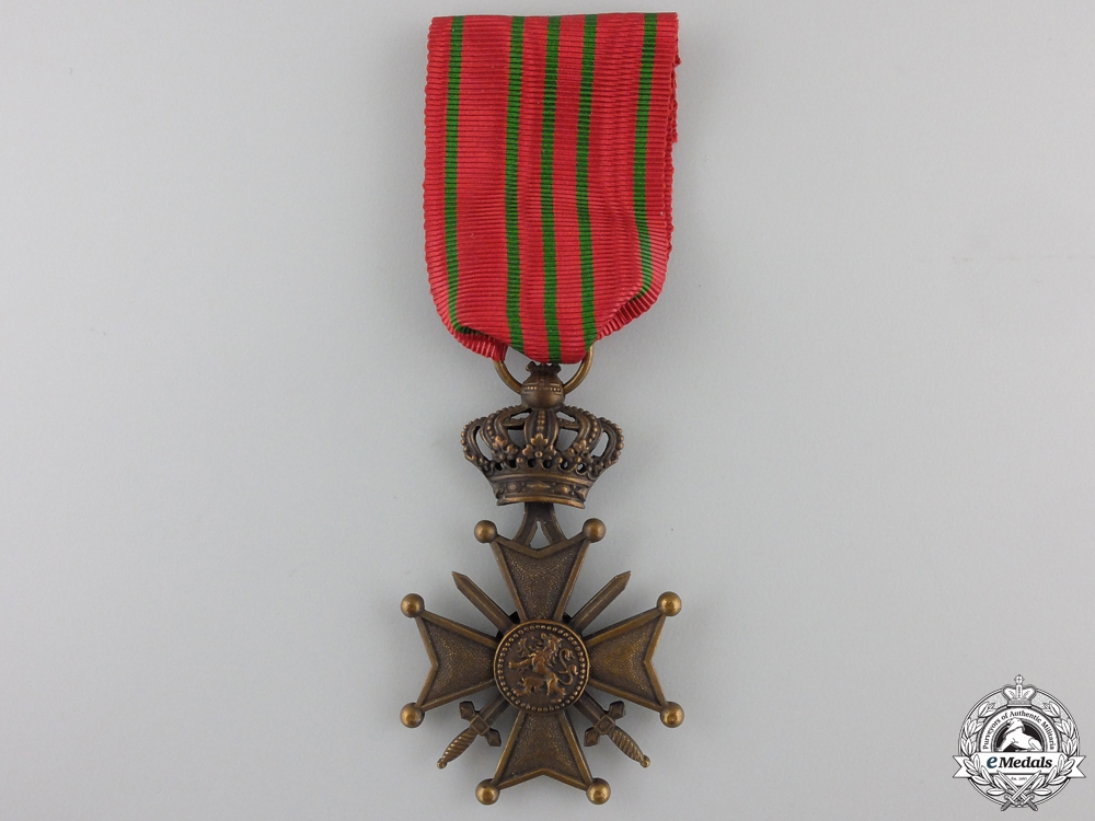 A First War Belgian War Cross