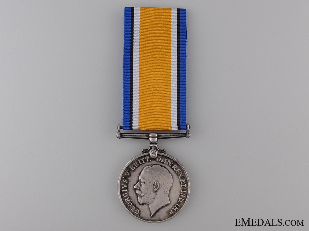 A First War British War Medal to Lieutenant R.B. Menzies