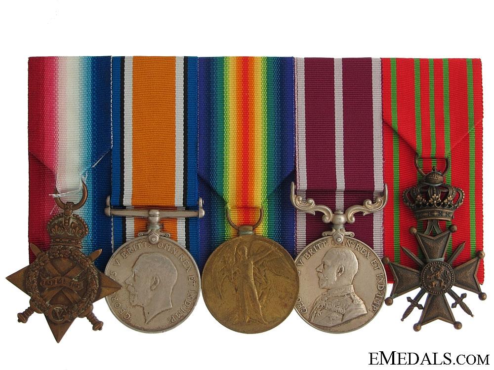 A First War Canadian MSM Group  1100