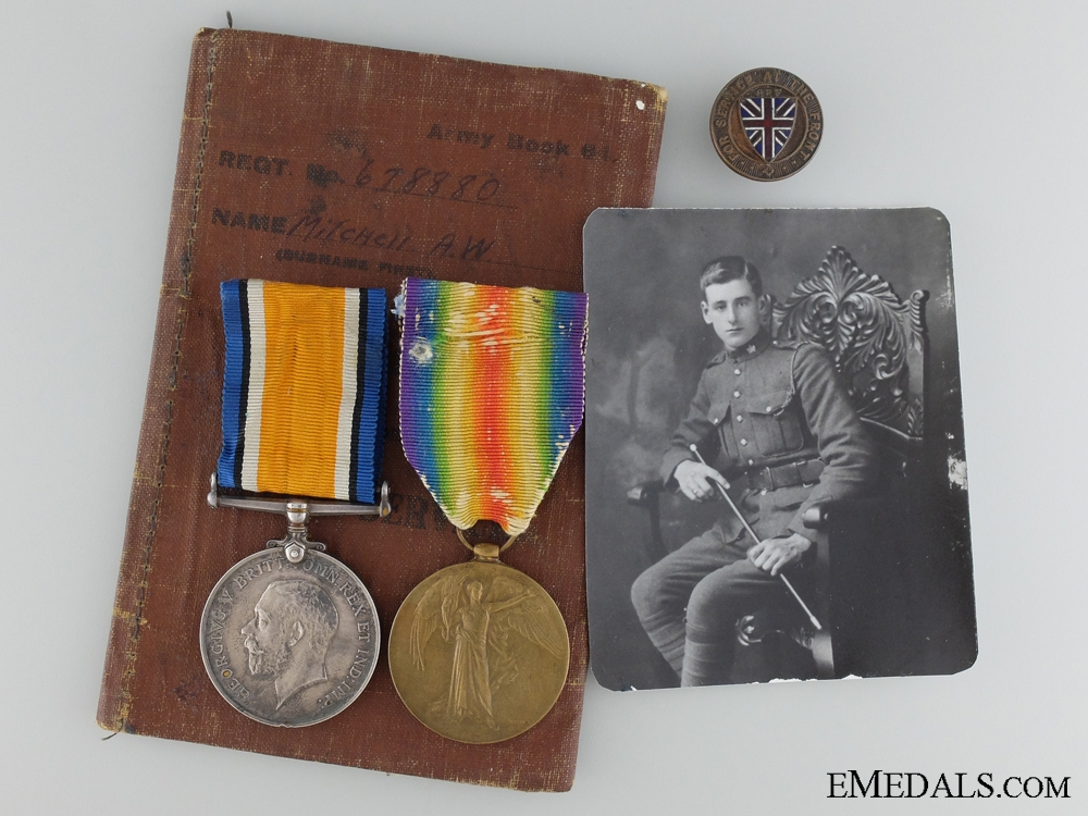 A First War Canadian Pair to the 20th Infantry Battalion