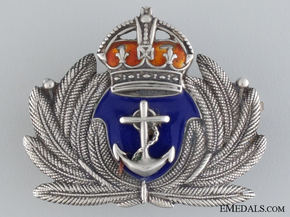 A First War Canadian Merchant Navy Badge by Birks