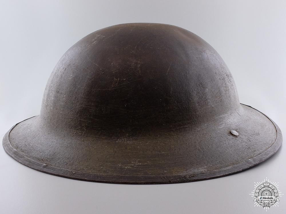 A First War Canadian Brodie Helmet