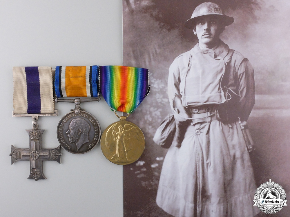 A First War Canadian Military Cross for Passchendaele 1917