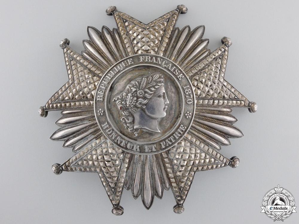 A First War French Legion D'Honneur; Grand Cross Star
