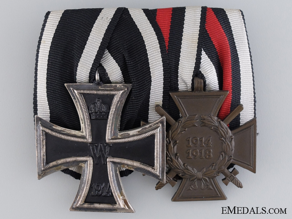 A First War German Medal Pair