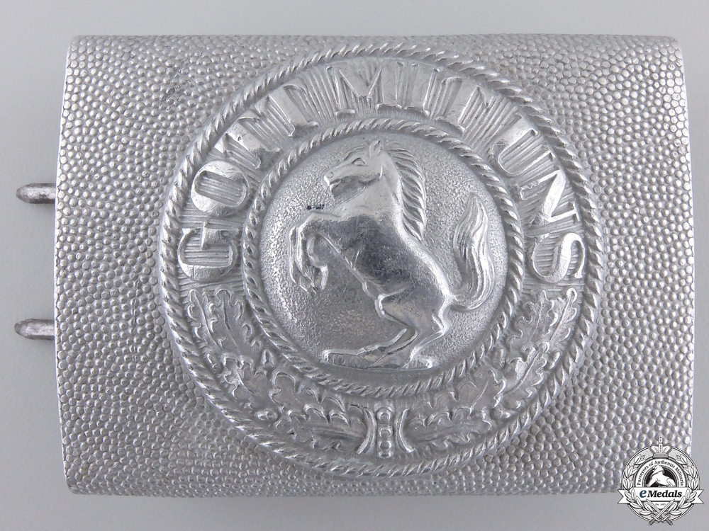A First War German Imperial Brunswick Belt Buckle
