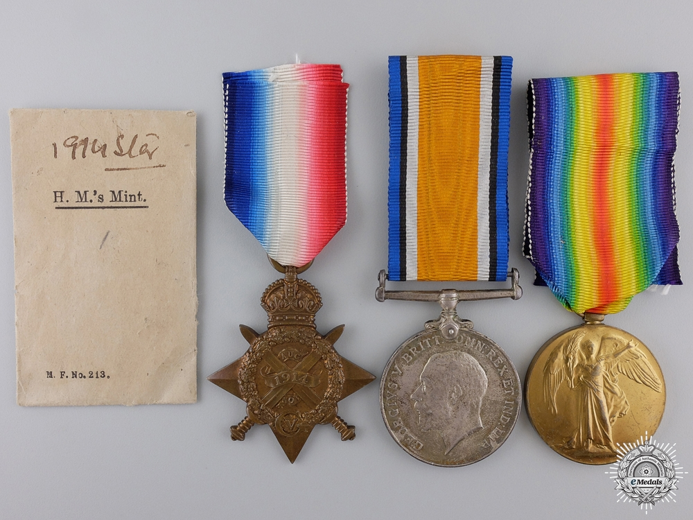 A First War Group to Servant Attending the 6th King Edward's Own Cavalry; KIA