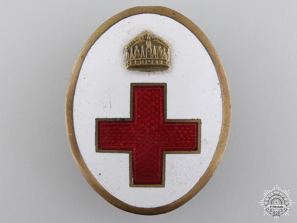 A First War Hungarian Red Cross Members Badge