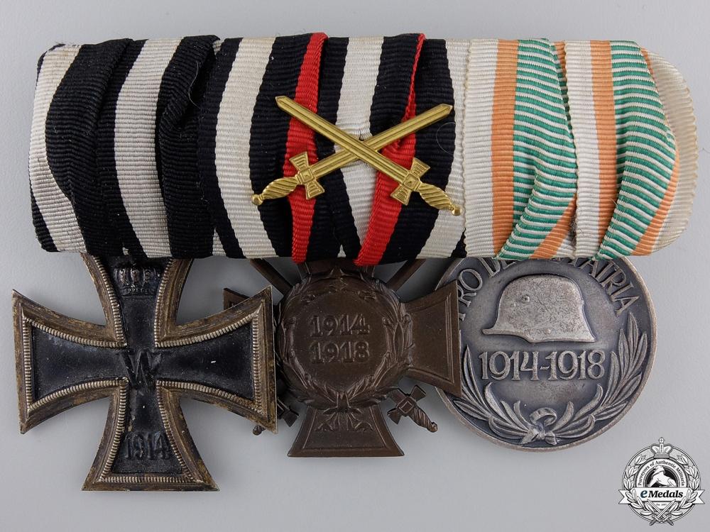 A First War Iron Cross Medal Group