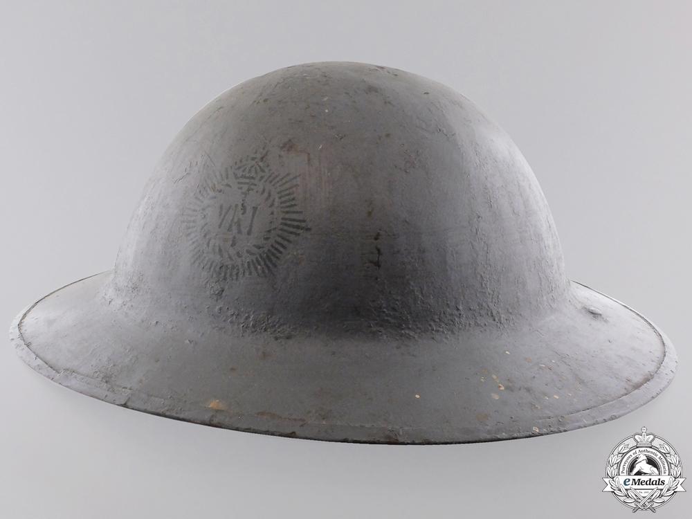A First War Mark II Royal Canadian Regiment Helmet