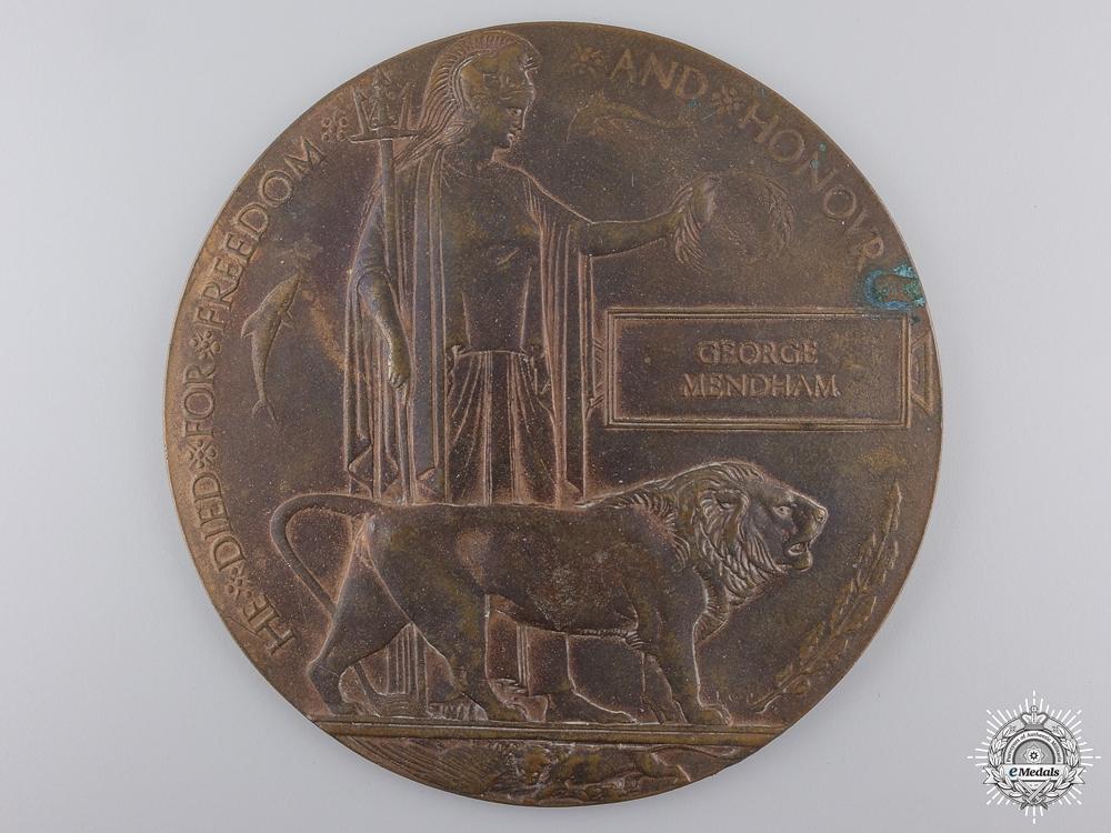 A First War Memorial Plaque to the Border Regiment/ 11th Bn