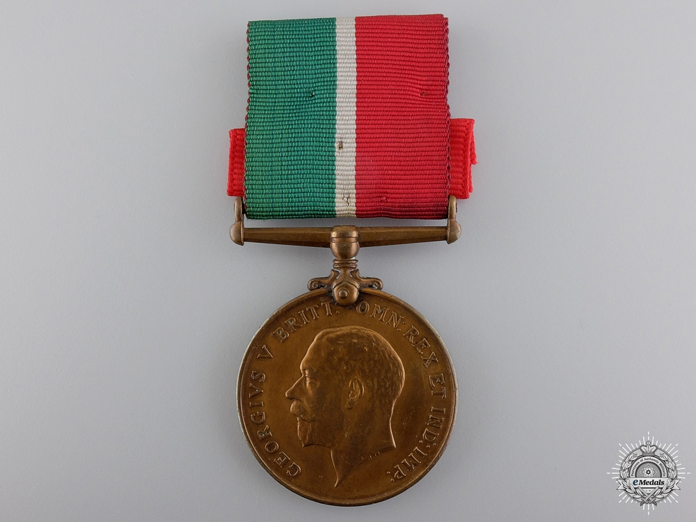 A First War Mercantile Marine Medal
