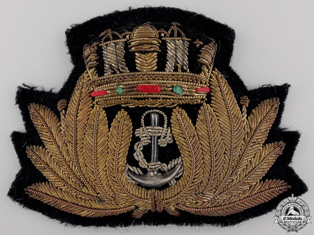 A First War Merchant Marine Cap Badge