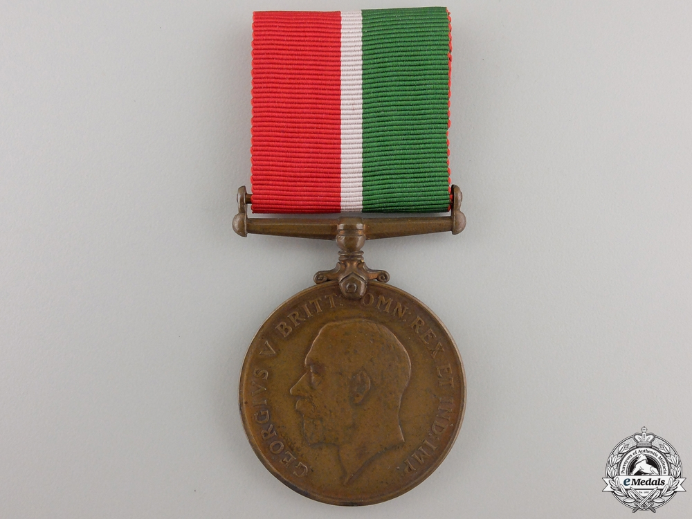 A First War Mercantile Marine War Medal; Bronze Version