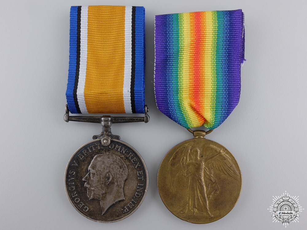 A First War Pair to the 21st Canadian Infantry; KIA 1916