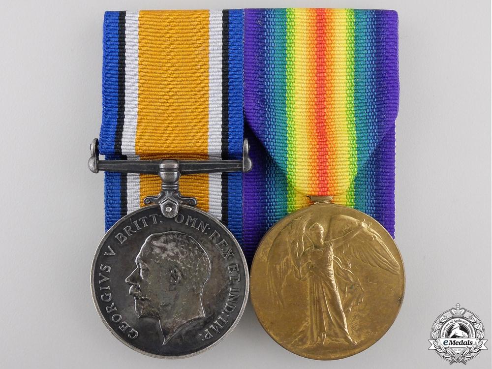 A First War Pair to the Royal Garrison Artillery