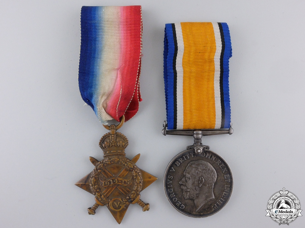 A First War Pair to the Canadian Overseas Railway Construction Corps