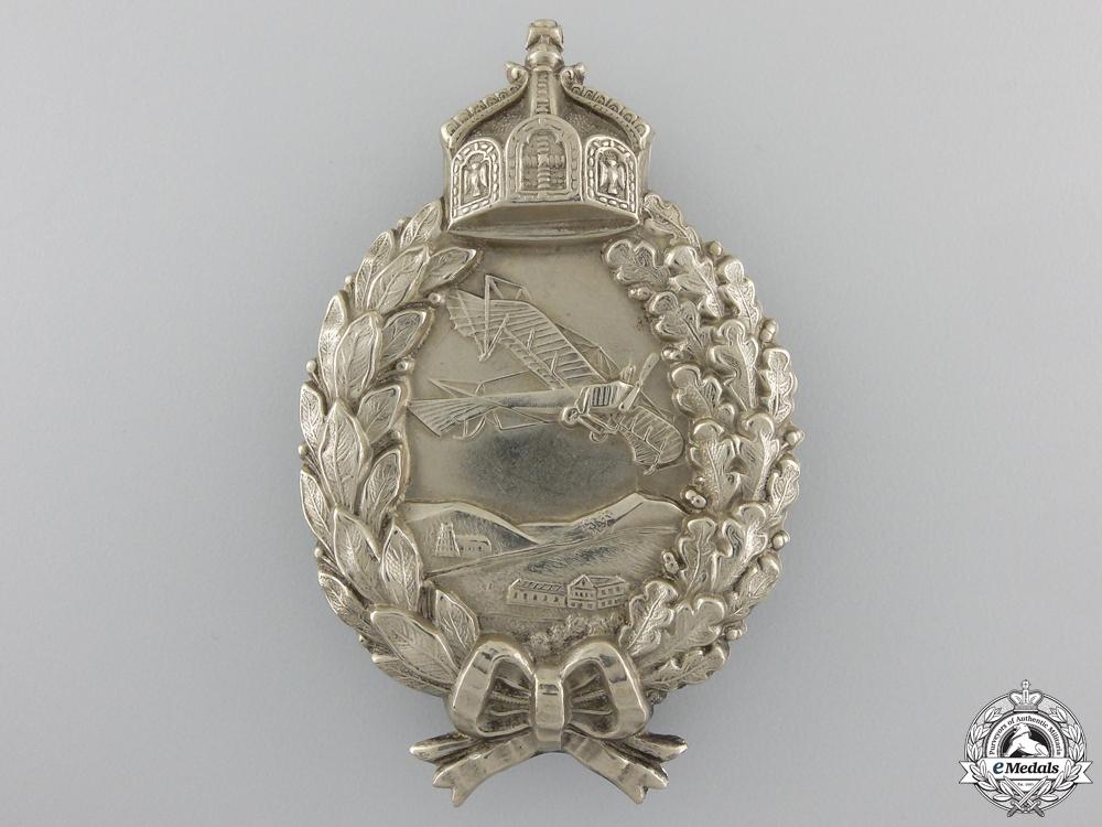 A First War Prussian Pilot's Badge; circa 1915-17