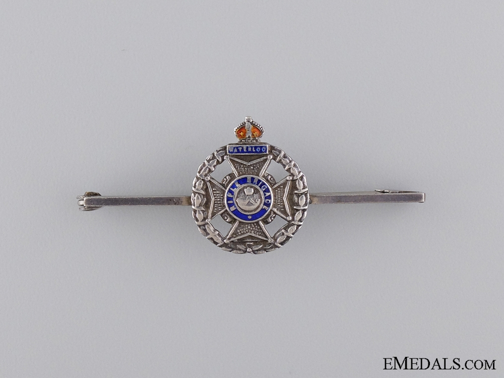 A First War Rifle Brigade Pin