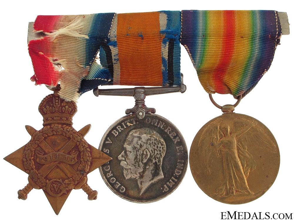 A First War South African Group