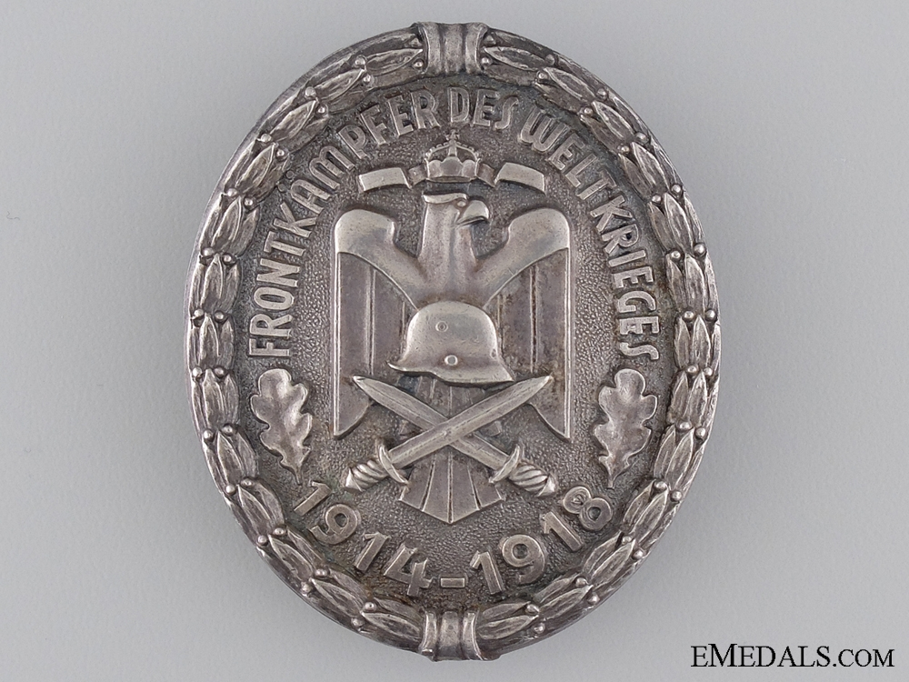 A First War Veterans Association Front Fighter Badge