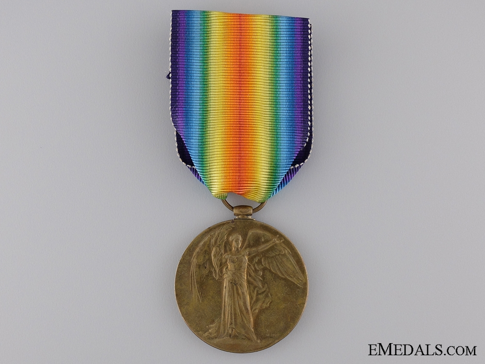 A First War Victory Medal to the Canadian Railway Troops