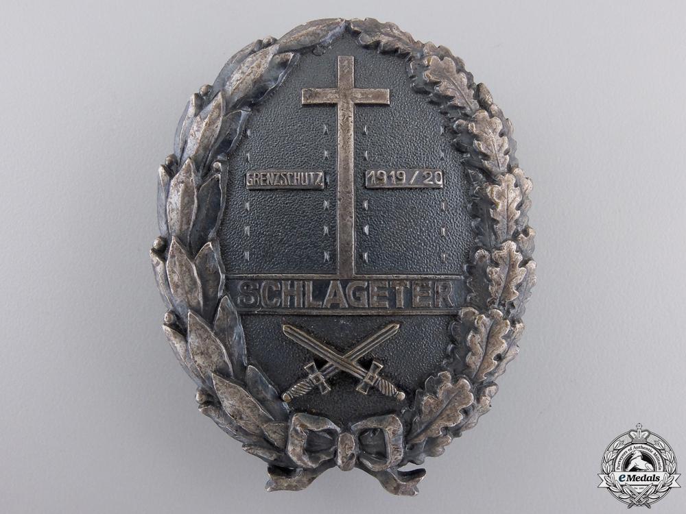 A Freikorps Schlageter Badge; Second Type